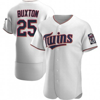 Authentic Minnesota Twins Byron Buxton Home Jersey - White